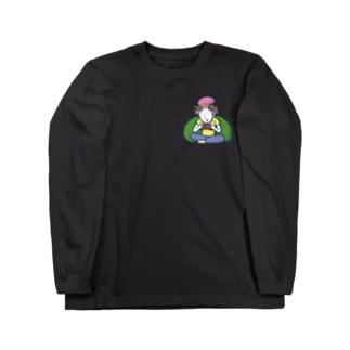 Gaming Girl/濃色ロングスリーブTシャツ Long sleeve T-shirts
