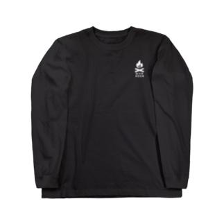 焚き火パーカー Long sleeve T-shirts