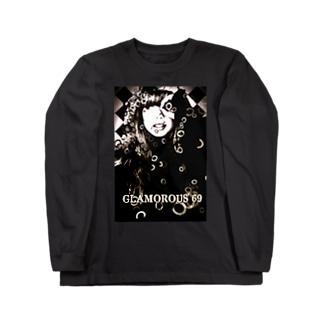 THE WORLD OF SPIRITS BURST / Glam girl Long sleeve T-shirts