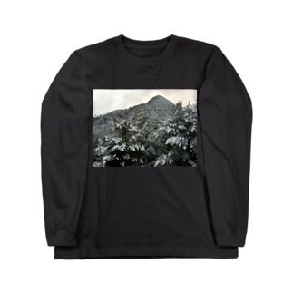 雪山 Long sleeve T-shirts