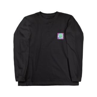 緑の閃光 Long sleeve T-shirts