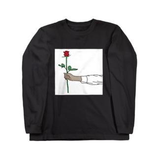 rose longT Long sleeve T-shirts