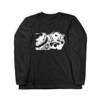 ピストンピストン Long sleeve T-shirts