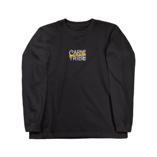 CarneTribe ホワイトロゴ ロングTシャツ Long sleeve T-shirts