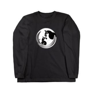 馬紋 母仔 Long Sleeve T-Shirt
