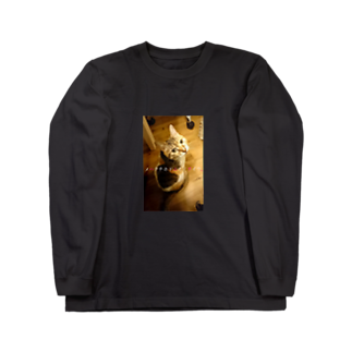 猫沢太陽のメハクチホドニモノヲイウ。 Long sleeve T-shirts