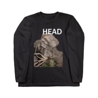 HEAD <FONT COLOR : WHITE> Long sleeve T-shirts