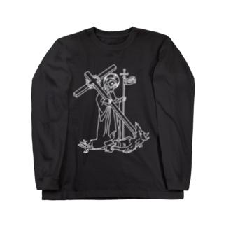 キリスト Long sleeve T-shirts
