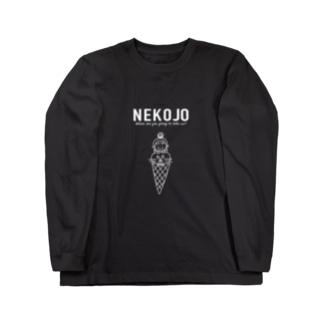 NEW NEKOJO Long sleeve T-shirts