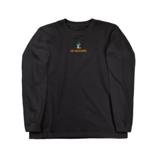 デザイン②(カラー) Long sleeve T-shirts