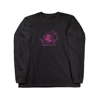 勾玉の輪ロングTシャツ Long sleeve T-shirts