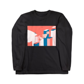 この街で眠る Long sleeve T-shirts
