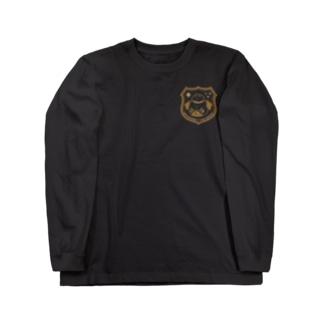 ロホホラわんわん(綴化)B Long sleeve T-shirts