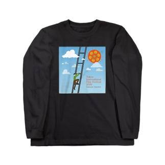 濃色9色展開 東京国際映画祭 学生応援団 ロンT Long sleeve T-shirts