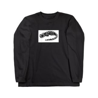 モノクロマダラ Long sleeve T-shirts