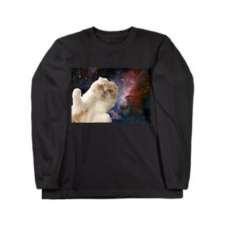 宇宙マル Long sleeve T-shirts