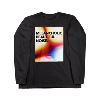 MELANCHOLIC BEAUTIFUL NOISE. Long sleeve T-shirts