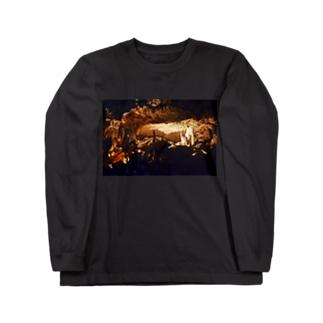 鍾乳洞 Long sleeve T-shirts