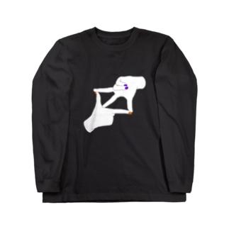 ハロウィン ネイル Long sleeve T-shirts