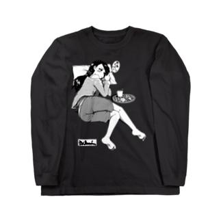寝っころGIRL vol.2 Long sleeve T-shirts