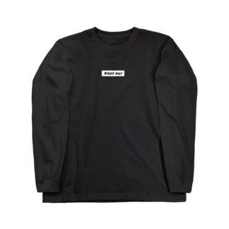 RIGHT WAY ロングTシャツ Long sleeve T-shirts