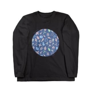 放散虫Tシャツ Long sleeve T-shirts