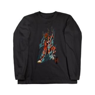 真田幸村 Long sleeve T-shirts