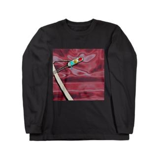 妖怪ダイオード Long sleeve T-shirts