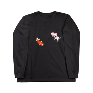 藤錦 オリT Long sleeve T-shirts