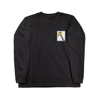 FEELING MYSELF GIRAFFE Long sleeve T-shirts