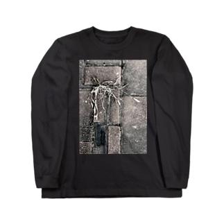 隙間の命-枯草-201206 Long sleeve T-shirts