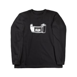 Film&Camera(白) Long sleeve T-shirts