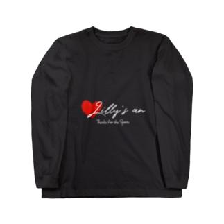ハートデザイン Long sleeve T-shirts