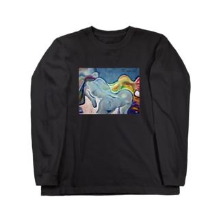 情熱の冷たさ Long sleeve T-shirts