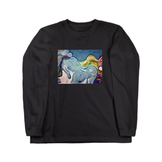 情熱の冷たさ Long sleeve T-shirts