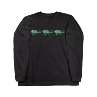AWZエボシカメレオン(トリプル) Long sleeve T-shirts