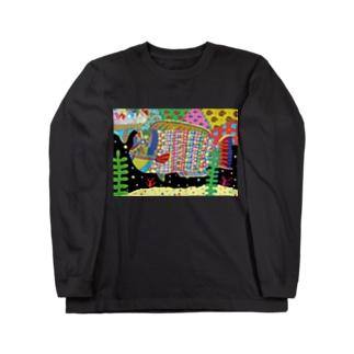 鮮魚のCMYK★ Long sleeve T-shirts