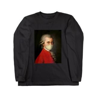 マスク モーツァルト Mozart Long sleeve T-shirts