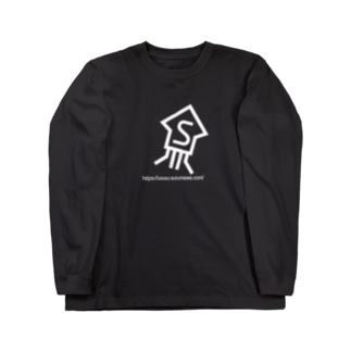 Surume_s_ver2_wh Long sleeve T-shirts