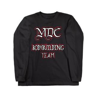 MDC   ボディビルディングチーム Long sleeve T-shirts
