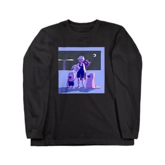 hankachi_95のdeparture. Long sleeve T-shirts