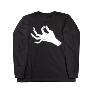ZIP_白爪 Long sleeve T-shirts