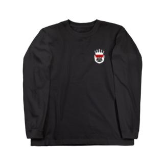 Yacchan (白) Long sleeve T-shirts
