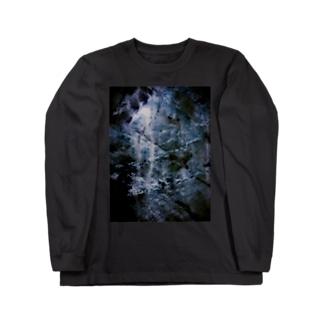Artwork#1 岩肌 Long sleeve T-shirts