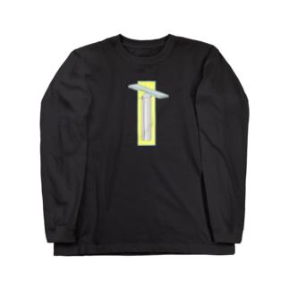 ヴィブラフォン(縦長) Long sleeve T-shirts