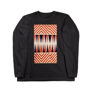 アヴァンなシマシマ2 Long sleeve T-shirts