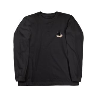 """モリオン(黒水晶) """"グラフィックVer."""" Long Sleeve T-Shirt"""