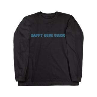 DAKK ネオンデザイン Long sleeve T-shirts