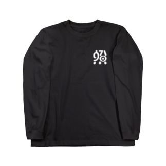 三6⑧ボールペンロゴ ロンT Long sleeve T-shirts