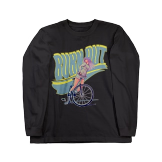 """""""BURN OUT"""" Long sleeve T-shirts"""